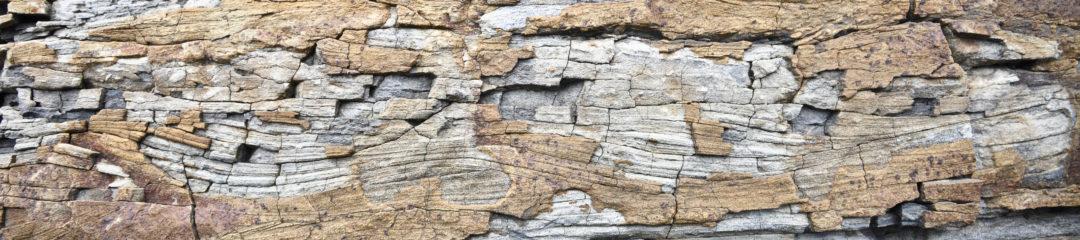 Wavy Sandstone pattern outcrop